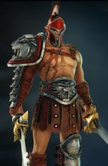 Spartacus red skin