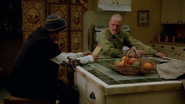 File:1x07 - Walt giving Jesse his shopping list.jpg