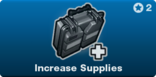 Increase Supplies