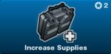 Increase Supplies