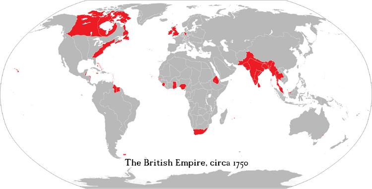 British Empire 1750 Edition