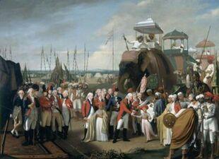 Surrender of Tipu Sultan