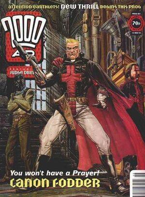 2000 AD prog 861 cover