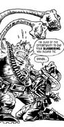 Protoid attacks Mad Tommy