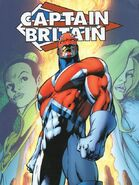 Captain Britain 2nd Costume