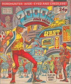 2000 AD prog 439 cover