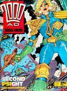 2000 AD prog 607 cover