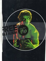 Hulk sticker album