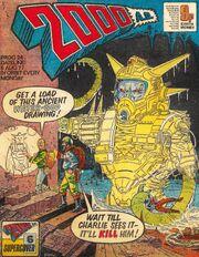 2000 AD prog 24 cover