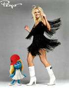 Smurfette VS Britney Spears