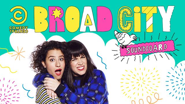 Broad city soundboard