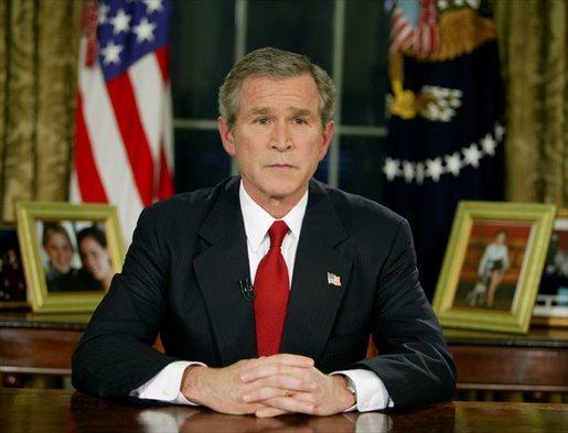 File:Bush announces Operation Iraqi Freedom 2003.jpg