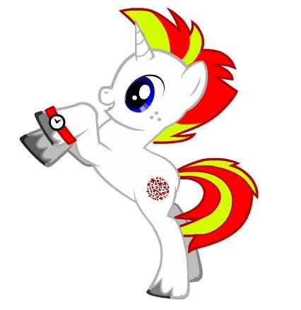File:My pony close up v2 - Red Star.jpg