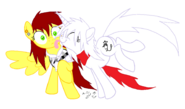 Amber and Aniju Pony Base