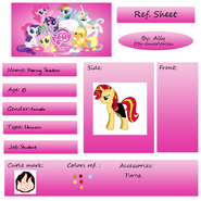 Ref Sheet for flaring shadow
