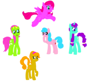 Ponies all around by berrypunchrules-d7wwf4r-1