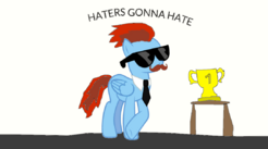 Haters going hate