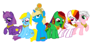 The gamer Mane Six elements of Harmony