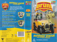 Runaway Statue VHS Cover And Rear