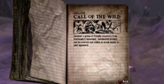 Call of the Wild Tour Book
