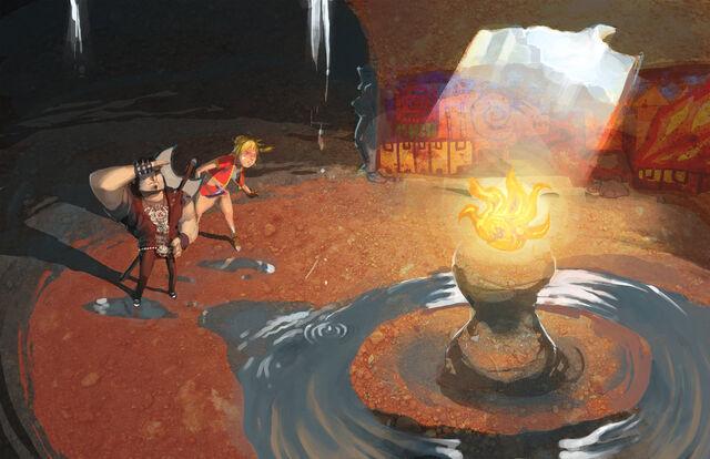 File:Fan Art Frozen Flame.jpg