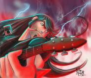 Fan Art Electric Guitar