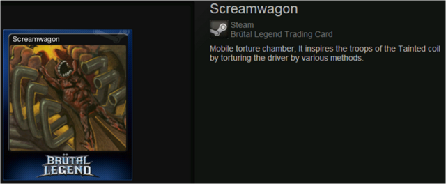 Screamwagon normal