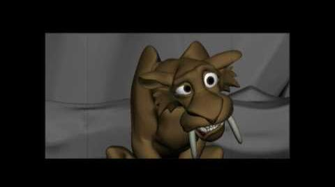 Ice Age Deleted Scene Sabre Stake Out