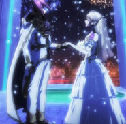 Ryota and Himiko full Virtual Wedding shot