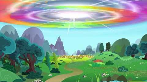 MLPFiM Double Rainboom