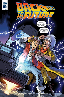 Back to the Future 9 cover