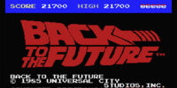 Back to the Future (1985 computer game)