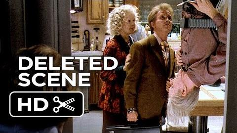 Back to the Future Part II Deleted Scene - Dad's Home (1985) - Michael J. Fox Movie HD
