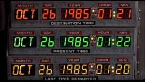 Time Circuits BTTF