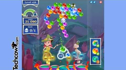 Bubble Witch Saga 2 Level 458