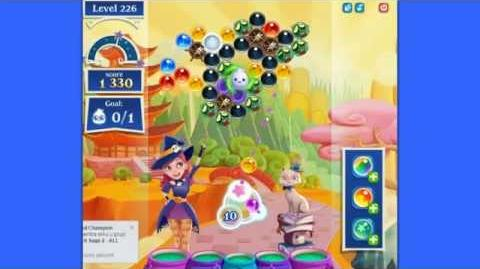 Bubble Witch 2 Saga level 226 NEW-0