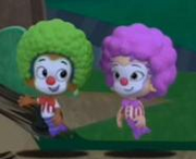 Oon and goby so cute clowns