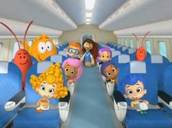 Bubble guppies plane