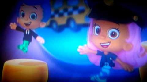 Bubble guppies autobus