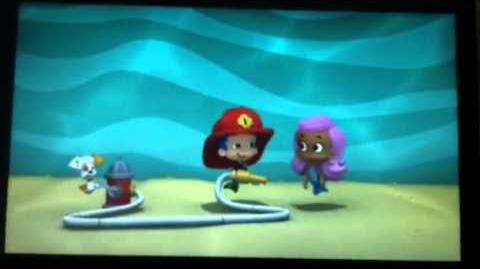 Bubble Guppies Molly & Gil sketch (wild fire hose)
