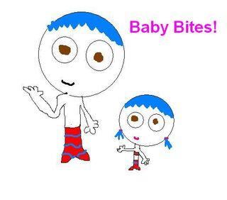 Baby bites!