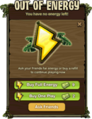 Out of Energy-Icon