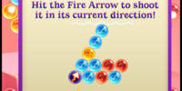 Fire Arrow Bubble
