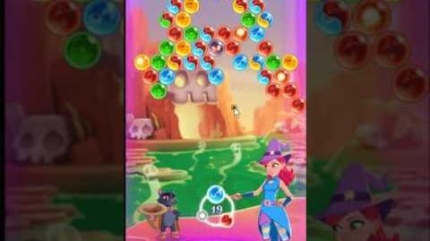 Bubble Witch 3 Saga Level 157 ~ 3 stars ~ no boosters