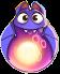 BWS3 Bat Fairy Tale Purple bubble