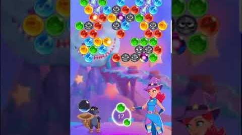 Bubble Witch 3 Saga Level 523 (First Look 👀) Boosters