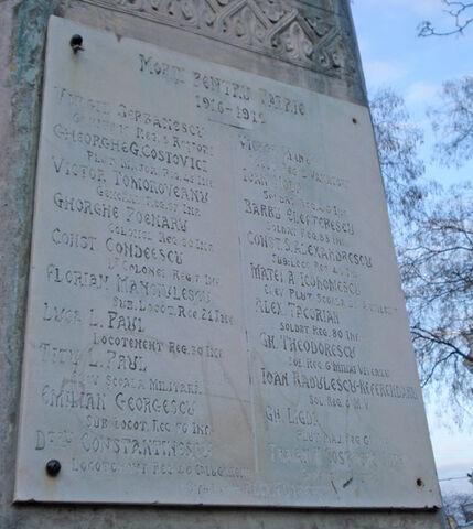 Fișier:Monumentul eroilor din 1916-1918 placa.jpg