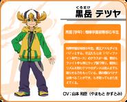 Tetsuya's profile