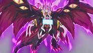 Kyoya as Demonic Dragon Deity of the Black Sun, Gaen