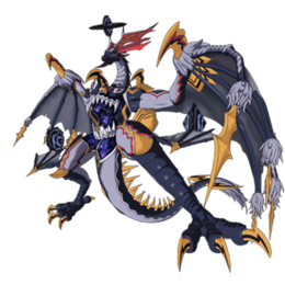 Awakened Black Death Dragon, Abygale Full Body
